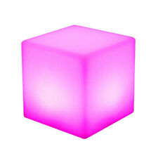 10cm Cube Led Mood Lght Night Lamp For Garden Bedside Control Remote Light