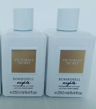 2 VICTORIA'S SECRET BOMBSHELL NIGHTS FRAGRANCE LOTION 8.4oz /  250ml NEW!