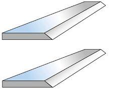 2 Fers de dégauchisseuse HSS 18% en 150 x 20 x 2.5 mm