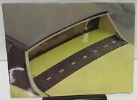 1974 Porsche 914 Dealer Prestige Color Sales Brochure Technical Data Original