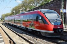 PHOTO  GERMAN RAILWAY -  DB REGIO BOMBARDIER TALBOT 'TALENT' CLASS 6430 3-CAR AR