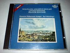 CD Mozart Prager Linzer Sinfonie Karl Münchinger Stuttg