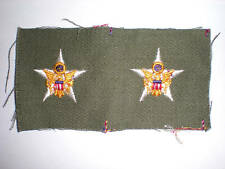 US ARMY 1960'S OFFICER GENERAL STAFF COLLAR INSIGNIA