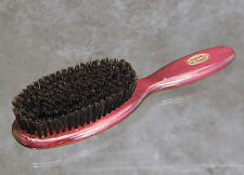 Quality Pure Black Bristle Clothing Brush 9 inches long