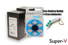 Power One Cochlear Implant Batteries Size: 675P (120 Pcs)+KeyChain/4 Batteries