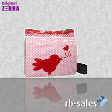 "Zebra TENDENCIA - Bolso de mano"" Lona "" Roze Pájaro"