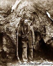Galen Clark, First Guardian of Yosemite - circa 1860 - Historic Photo Print