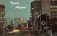 Postcard Downtown Tucson Arizona