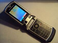 Retro Original Motorola V3X Bloqueado a Vodafone, Lebara 3G Teléfono Móvil