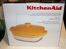 KitchenAid® Ceramic 2.8-Quart Casserole Dish with Lid Buttercup, KBLR28CRBF