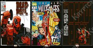 MARVEL Mexico NEW MUTANTS #98 1ST APPEARANCE OF DEADPOOL FOIL Reprint