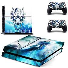 Final Fantasy VII Sony PS4 Playstation 4 Skin Aufkleber Schutzfolie PVC Neu