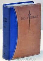 The Holy Bible King James Version Giant Print, INDEXED, Sword Study,Red Letter