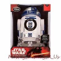 "Disney Store Star Wars Force Awakens Talking R2-D2 Astromech Droid Figure 101/2"""