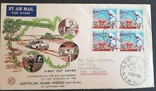 1962 Australia Stamp Fdc - Australian Inland Mission Anniversary - 5/9/62