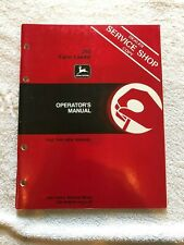 John Deere 280 Farm Loader Operators Manual