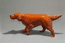 Irish Setter ceramic dog figurine. Great gift for dog lovers.