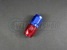 Russell -8 AN 8AN Straight Full Flow Hose End Fitting Red/Blue 610030