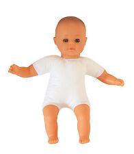 Babypuppe Puppe hellhäutig, Weichkörper, 30 cm NEU