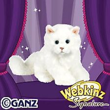 New **GANZ ~ WEBKINZ SIGNATURE SMALL PERSIAN CAT** Sealed Code