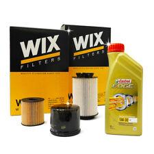 Kit tagliando VW GOLF VI 6 2.0 TDI 103kw 140cv 4 filtri + Castrol EDGE LL 5w30
