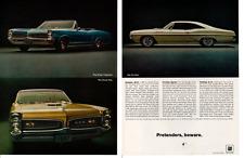 1967 PONTIAC  GTO - SPRINT - 2+2 ~ ORIGINAL 2-PAGE MUSCLE CAR AD