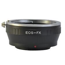 EOS-FX Canon EOS EF Mount Lens to Fujifilm Fuji X-Pro1 XPro1 X Pro 1 FX Adapter