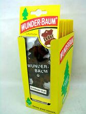 24 piezas 24 Pack Wunderbaum Ambientador Ambientador perfume aroma PIEL NATURAL