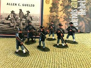HAND PAINTED Civil War Toy Soldiers in 54 mm - Iron Brigade at Brawner's Farm