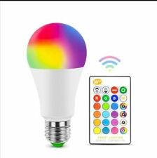 E27 Bluetooth RGB LED Bulb Lamp E14 LED Lamp IR Remote Control Light Bulb Smart