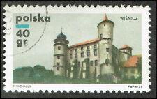 Scott # 1789  - 1971 - ' Wisnicz Castle ', Polish Castles