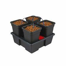 Wilma 4 Pot (6L) Hydroponic System Self Watering Dripper Grow Kit Grow Tent