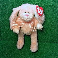 Rare Ty Attic Treasures Camelia The Bunny Rabbit 1993 Retired Jointed Plush MWMT