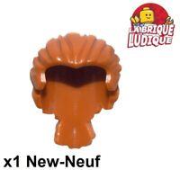 1x LEGO 98371 Omino Capelli pettinati Nocciola medio6000297