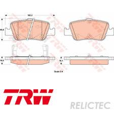 Rear Brake Pads Set Toyota:AURIS,COROLLA 04466-02182 04466-02180 04466-02170