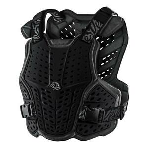 TLD ROCKFIGHT CE CHEST PROTECTOR, YOUTH SIZE, BLACK OR WHITE, ONE SIZE