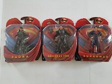DC Comic Movie Masters Adult Collecters Superman General Zod Flora NIP
