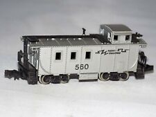 """N scale Model Power  """"Radio Equipped"""" Offset Cupola Caboose #560"""
