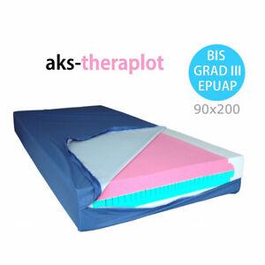 AKS Theraplot (90x200) Weichlagerungsmatratze, Anti Dekubitusmatratze bis Grad 3