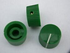 Perillas Potenciómetro 20mm Verde 3 Amplificador De Guitarra Perilla De Olla De Radio + Tornillo
