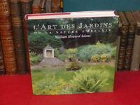 W.-H. ADAMS / L'ART DES JARDINS OU LA NATURE EMBELLIE / BEAU LIVRE 1992