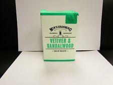 SCOTTISH FINE SOAPS - VETIVER & SANDALWOOD EAU DE TOILETTE FOR MEN - EDT 100ml