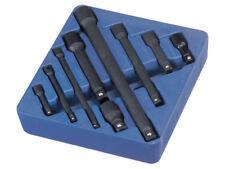 """Genius Tools 9 Pcs 1/4"""", 3/8"""" & 1/2"""" Dr. Impact Extension Bar Set - IE-2349"""