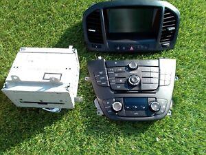 DVD 800 Navi mit Kabelbaum für Opel Insignia 2008-2013