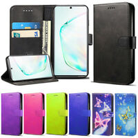 For Samsung Galaxy Note 10 Plus 5G Case Magnetic Leather Wallet Stand Case Cover