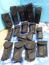MIXED 16 PC LOT OF CASES/ SHEATHS: BLACK NYLON MATERIAL USED SEE PICS #6