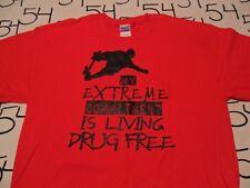 Large- Drug Free T- Shirt