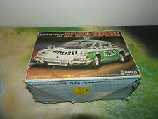 NIKKO Deluxe Polizei Porsche 911 RC Japan 1974 Vintage Ferngesteuert