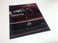 1985 Buick Electra Park Avenue Electra T-Type Brochure
