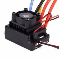 80A ESC Sensored/Sensorless Brushless RC Accesssory for 1/10 Truck Crawler Car